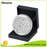 Monete su ordinazione di guerra civile del capitano America di Hiicoins della fabbrica dei regali della Cina