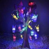セリウムのRoHSの写真フレーム夜装飾のための公認のクリスマスクリップストリングライト