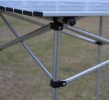 Pliage, aluminium, pêche, table de camping
