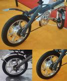 Jb-14 '' siete motor eléctrico del eje de rueda trasera de la alta calidad 350W de la rueda de estrella
