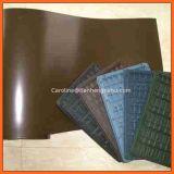 Colore della pietra del marmo del materiale da costruzione del PVC che lamina la pellicola del PVC