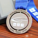 Medalla de encargo barata de la concesión del maratón de los cabritos de la corrida de la aleación del cinc