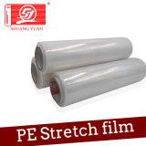 Uso da película da pálete película e de estiramento de envolvimento material de empacotamento do PE