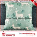Подгонянная оптовой продажей крышка валика /Sofa подушки симпатичного хлопка Linen квадратная