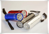 9 LED-Fackel-Licht mit Aluminiumfall