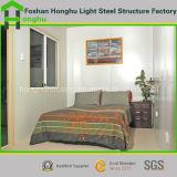 Casa prefabricada de acero del envase de la casa prefabricada en rojo/verde/azul/gris