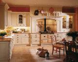 Modules de cuisine modernes en bois solide de type de meubles à la maison de cuisine