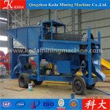 金の洗浄プラントのための金の採鉱機械トロンメルスクリーン