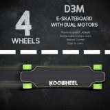 El almacén de los E.E.U.U. almacena el patín eléctrico movible Longboard de la batería UL2272 de los motores duales de Koowheel
