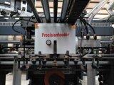 Máquina que corta con tintas y que arruga manual y automática