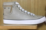 2016 le type que neuf a vulcanisé Outsole en caoutchouc lacent vers le haut des chaussures de mode de toile