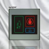 El panel al aire libre del sistema del timbre del hotel en el marco plástico del esquema (SK-dB2300S3)