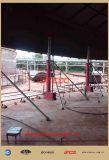 Sistema do levantamento com macaco hidráulico do tanque acima/jaques de Hydraucli para o tanque