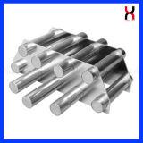 Filtre magnétique de néodyme avec 304 tubes pour l'industrie de plastiques