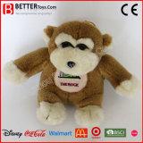 Mono relleno promoción barata del juguete de China