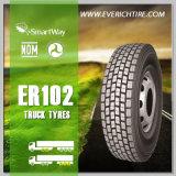 neumático barato del carro del neumático del acoplado 385/65r22.5 con término de garantía y seguro de responsabilidad por la fabricación de un producto