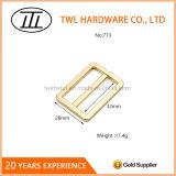 Inarcamento registrabile dell'anello in lega di zinco quadrato del metallo per il sacchetto
