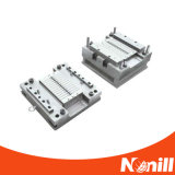 Diseño de molde plástico de la válvula de la llave de paso de 3 maneras