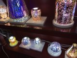 Luz del LED con la cubierta de cristal 3D