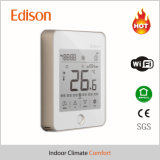IOS de WiFi de thermostat de pièce de bobine de ventilateur/à télécommande androïde