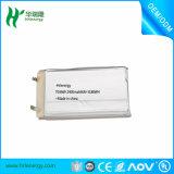 Del material/del equipo de la batería del teléfono de la batería 975571p/855085cell del polímero/de la batería de ion de litio surtidor de la tecnología/