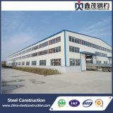 Edificio prefabricado de la estructura de acero para el almacén de la fábrica del taller