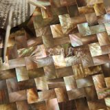 Hot Sale Brown Lip Mop Shell Mère de Pearl Mosaic Tile for Decoration Wall