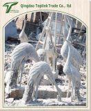 석회석 의 옥외 판매 기중기를 위한 정원 손에 의하여 새기고는 및 조각품 새겨지는 조각품