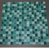 品質ガラス正方形のプールのモザイクカラーデザイン