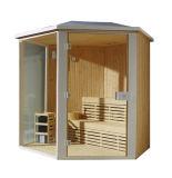 Le bois de la Finlande de 6 personnes a établi le sauna à la maison de Monalisa à vendre