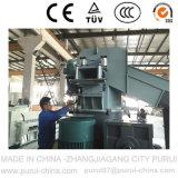 Reciclaje de residuos de plástico Máquina para peletización TPE correas