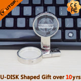 Magnifying Glass / Lens Crystal USB Flash Drive como presente (YT-3270-04)