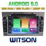 Автомобиль DVD Android 6.0 сердечника Witson 8 для Opel Vectra (2005-2008) Antara (2006-2011)
