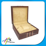 Cadre en bois fait sur commande de luxe de module de montre d'étalage de montre