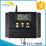 регулятор разрядника заряжателя 80A 12V/24V солнечный с состоянием 80I зарядки аккумулятора индикатора СИД