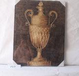 Pitture luminose magiche della tela di canapa del Brown scuro della decorazione della casa del trofeo
