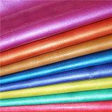 Buntes glasig-glänzendes PU-synthetisches Leder für Schuh-Industrie
