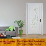 Меламин фабрики Китая белый смотрел на деревянную дверь (GSP12-027)