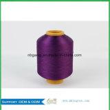 Le filé DTY, dopant de filament de polyester a teint les fils de polyesters DTY, en textile à la maison pour le tapis