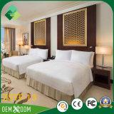 Jogo de quarto da madeira contínua da alta qualidade da mobília do hotel (ZSTF-13)