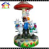 Carrusel del ángel poco paseo del Kiddie del parque de atracciones del caballo del cruce giratorio