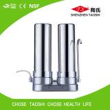 Purificador Desktop da água da HOME do aço inoxidável de 10 polegadas