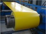El acero cubierto color Coils/PPGI/Prepainted galvanizó la bobina de acero
