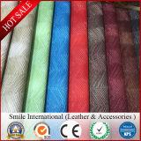 PVC bon marché Stocklot en cuir, cuir artificiel de la Chine de PVC une pente Stocklot pour le sac