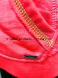 Hoody de moda fluorescente para las mujeres con colada sucia