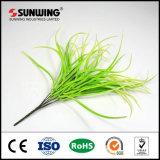 Cheap Artificial Green Bamboo Filial Spray com Fireproof