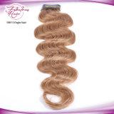 最上質のバージンのインドの毛10#カラー自然な毛