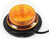 자석 기초를 가진 저프로파일 회전하는 경고 LED 표시등