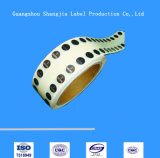 Collants argentés sourds-muets toutes sortes d'étiquette (SJ-DS01)