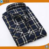 Hommes d'OEM d'usine chemise occasionnelle de coton de chemise de mode de 2017 ressorts